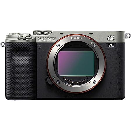 Sony Alpha 7C Full-Frame Mirrorless Camera - Silver (ILCE7C/S)