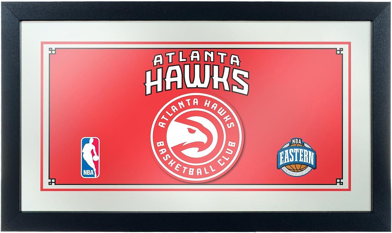 NBA Atlanta Hawks Framed Logo Mirror