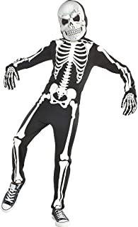 amscan Glow in The Dark X-Ray Skeleton Costume for Toddlers (3-4)- 3 pcs., Multicolor, small