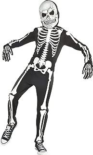 amscan Halloween Boy's X-Ray Skeleton Glow-in-The-Dark Costume