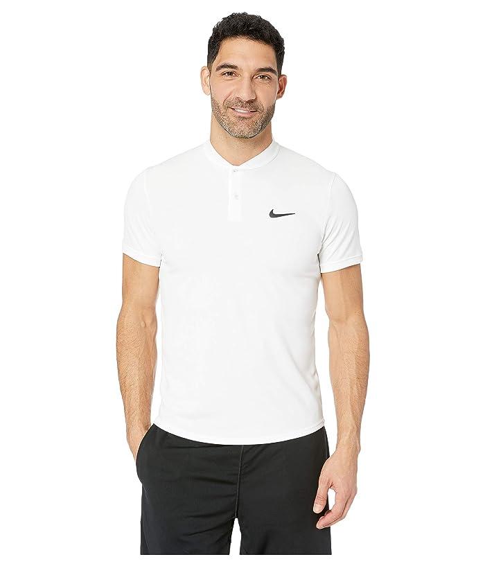 Nike NikeCourt Dry Polo Blade (White/Black) Men