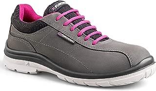 FUNCIONAL Women's Bali Aluminum Toe Ultra-Lightweight Work Shoe