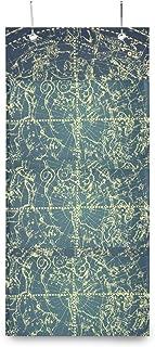 XIXIKO Constellation Galaxie Planet - Pochettes de rangement à suspendre au mur avec 3 poches - Sac de rangement mural pou...