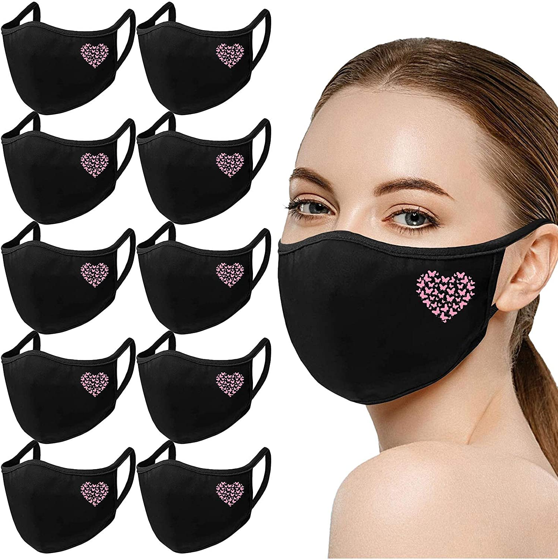 Fashion Dragonfly Print Face_Bandanas for Women Men,Reusable Protective Neck Gaiter Mouth Bandana Breathable