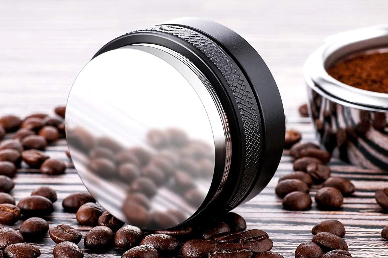 Professional Espresso Hand Tampers 53mm Coffee Distributor,2 in 1 Leveler /& Tamper,53mm Espresso Distribution Tool Dual Head Coffee Leveler Adjustable Depth 53mm