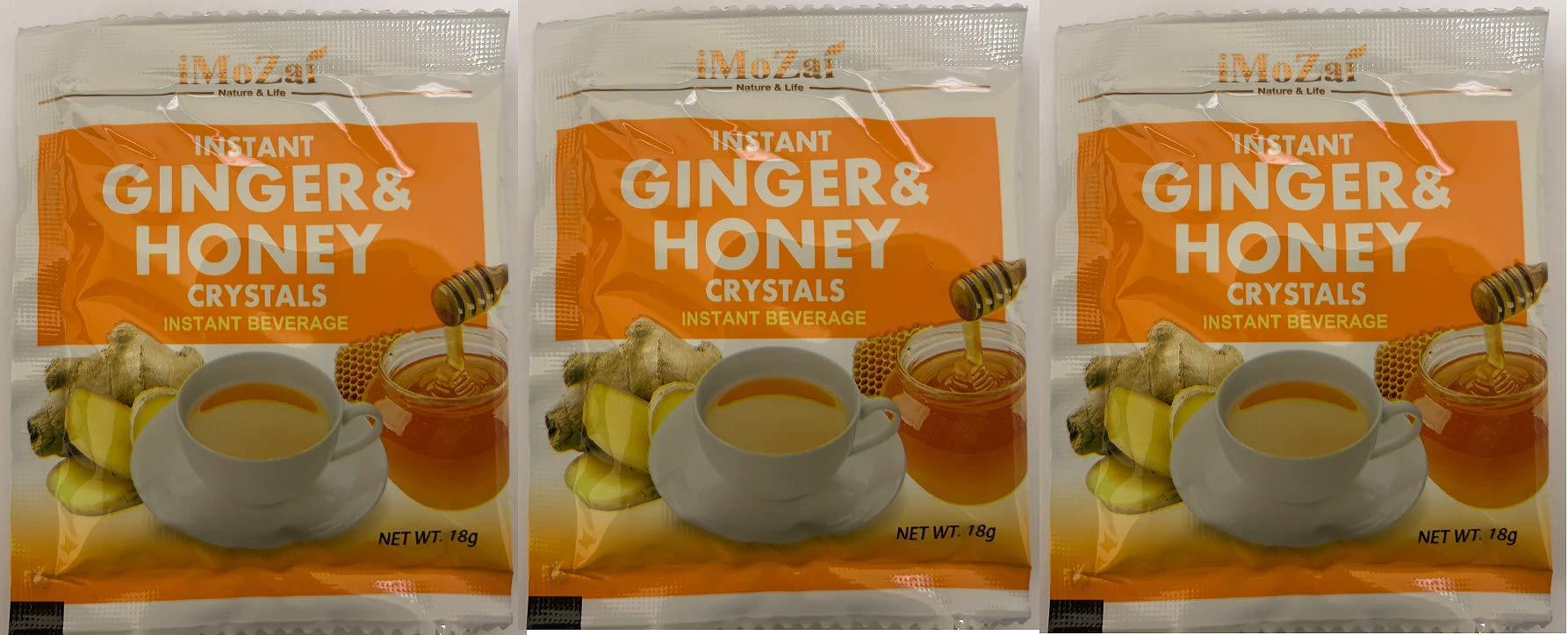 Ramune Japanese Soda Drinks Gift Set 8 Variety Pack Additional 3 Pack Ginger Honey Crystals