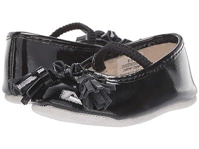 Robeez Emily First Kicks (Infant/Toddler) (Black Patent) Girl
