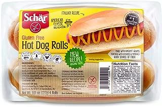 Schar Gluten Free Hot Dog Rolls, 8 Ounce ( Packaging May Vary )