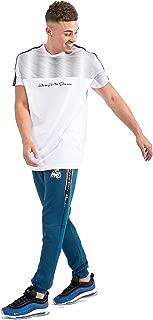 Kings Will Dream Men/'s Kaydon Zebra SS T-shirt White Black Red