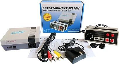 Console de jeu Mini TV familiale classique de 620 jeux, console portable Console rétro avec système de jeu et contrôleur d...