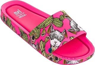 Girl's Mel Beach Slide 3B II (Little Kid) Magenta 2 M US Little Kid