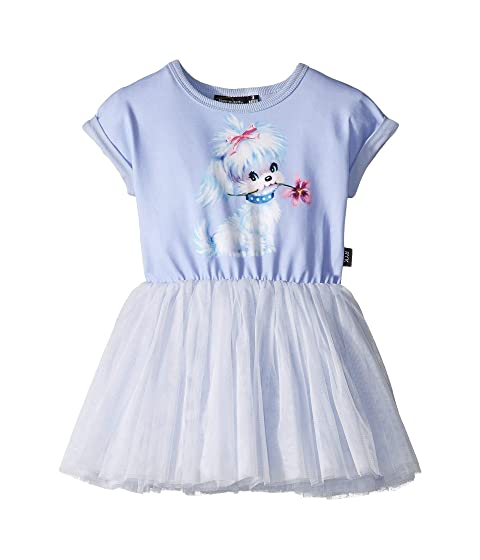 Rock Your Baby Clementine Dropped Shoulder Circus Dress (Toddler/Little Kids/Big Kids)