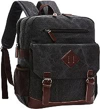 Mumoo Bear Backpack School Laptop Bag Hiking Travel Rucksack, Black