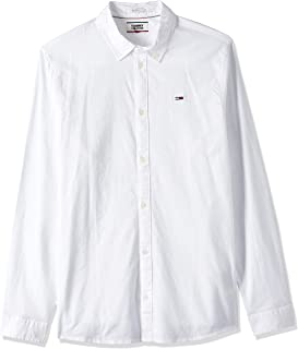 Tommy Jeans TJM Stretch Oxford Shirt Camisa para Hombre