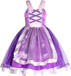 Princess Cinderella,Snow,Rapunzel,Mermaid,Elsa Costume Dress for Toddler Girls