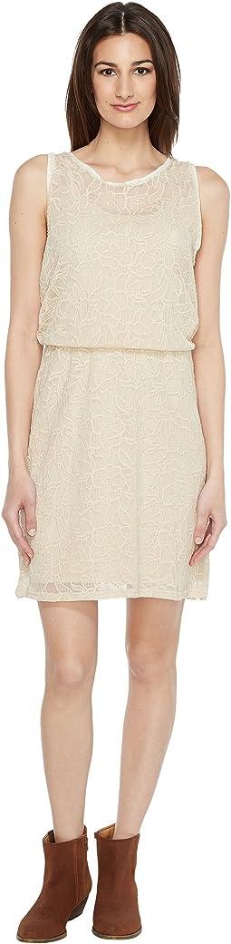 0884 Floral Lace Tank Dress