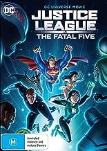 Justice League vs The Fatal Five DVD   Region 4