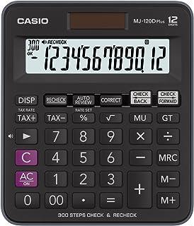 كاسيو MK-120D الة حاسبة للمكتب، 12 رقم شاشة بعرض كبير - اسود