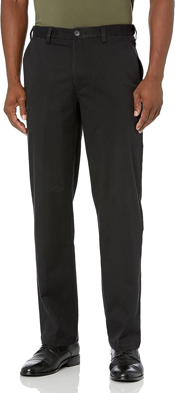 100% quality warranty! Haggar Men's Premium Comfort Popular popular Khaki Fit Front Classic Flat Pant