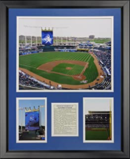 Legends Never Die Kansas City Royals - Kauffman Stadium New Framed Photo Collage, 16