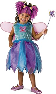 Disguise Baby Girl's Sesame Street Abby Cadabby Deluxe Costume