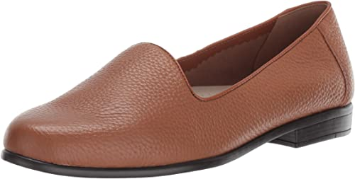Trougeters Wohommes Liz Tumbled Ballet Flat, tan, 6.5 2W US