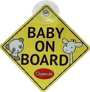 Clippasafe Baby und Kind On Board Schild