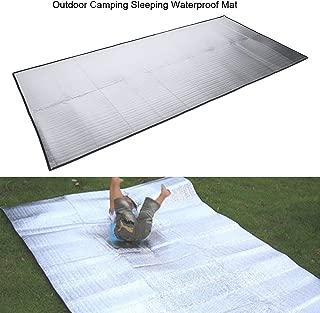 Vbestlife Outdoor Camping Sleeping Mattress Mat Pad Moistureproof Aluminum Foil EVA Pad 1pcs