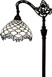 Amora Lighting AM122FL12 Tiffany Style Jeweled Reading Floor Lamp, 62-Inches