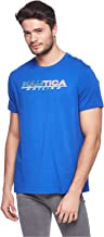 NAUTICA Short Sleeve T-Shirt for Men - Blue