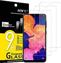 NEW'C Lot de 3, Verre Trempé Compatible avec Samsung Galaxy A10, A10s, M10, Film Protection écran sans Bulles d'air Ultra Résistant (0,33mm HD Ultra Transparent) Dureté 9H Glass