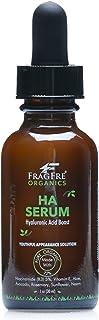 FRAGFRE Organic Hyaluronic Acid Serum with 5% Niacinamide 1 oz - Vitamin B-3 + E, Avocado, Organic Aloe, Rosemary and Neem...