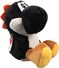 uiuoutoy Super Mario Bros. Black Yoshi Plush Toy Stuffed Animal Doll 6