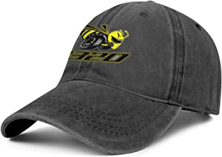 Unisex Cotton Washed Cowboy Hat Dodge-Scat-Pack-1320-Angry-Bee- Adjusted Snapback Cool Cap