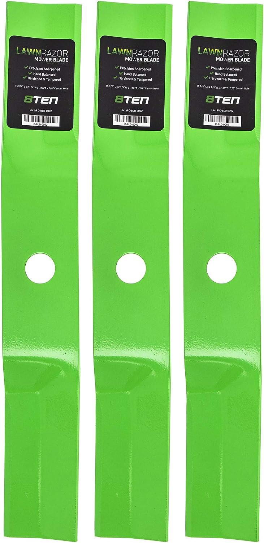 8TEN LawnRAZOR Hi Lift Blade 46 Lawn for supreme Murray Choice Tracto Deck inch