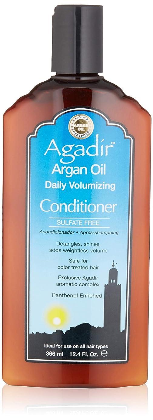 過半数独特の信号by Agadir ARGAN OIL DAILY VOLUME CONDITIONER 12.4 OZ by AGADIR