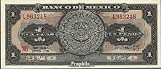 Mexico Pick-number: 59l 1970 1 Peso (Banknotes for collectors)