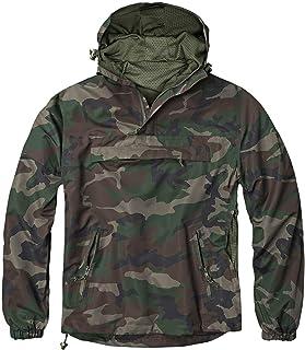 bw-online-shop Summer Windbreaker Slip-On Rain Jacket Sizes S - 7XL - Multicolour - XXXXXX-Large
