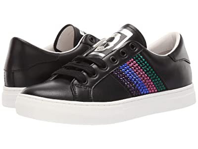 Marc Jacobs Empire Strass Low Top Sneaker (Black/Pink Multi) Women
