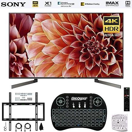 $2498 Get Sony XBR75X900F 75-Inch 4K Ultra HD Smart LED TV 2018 Model + Wireless Keyboard + Wall Mount Kit Bundle