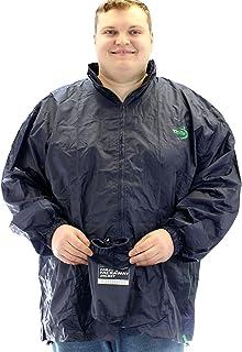Duke Men's D555 Zac Packaway Waterproof Rain Jacket