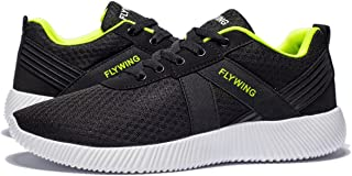 VANSKELIN Men Shoes Sneakers Mesh Lightweight Running Shoes Outdoor Breathable Athletic Casual Shoes