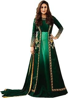 New Indian/Pakistani Designer Georgette Party Wear Anarkali Suit Anarkali Gown K2