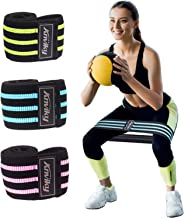 HAGNESS Booty Bands for Legs and Butt Hip Bands Resistance Bands Workout Bands Fitness Bands Fabric Soft and Non-Slip Design Glute Stretch Resistance Loops Bands