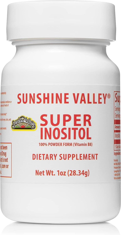 Sunshine Valley Super Oakland Mall Inositol Powder—PCOS Sales for sale B8 Suppl Vitamin