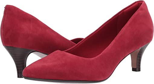 Dark Red Suede