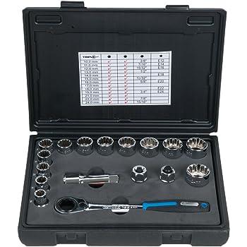 """60 mm 911.3454 KS Tools 3//4/"""" 12-Kant-Douille bref"""