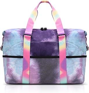 VBIGER Bolsa de playa grande para mujer con capacidad impermeable, bolsa de playa, bolsa de la compra, bolso de mano para ...