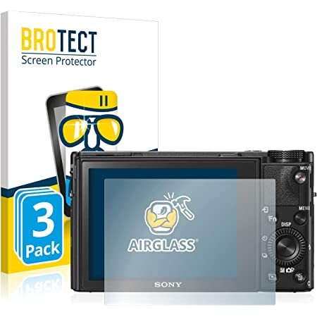 Atfolix Glasfolie Kompatibel Mit Sony Dsc Rx100 Vi Kamera