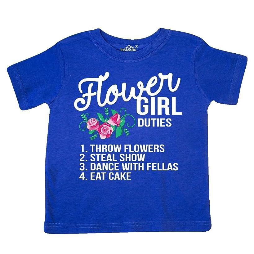 inktastic - Flower Girl Wedding Duties Toddler T-Shirt 28b53
